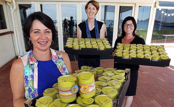 Photo of Bunbury Fundraiser Canned Invitations